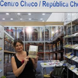 Radka Denemarková at Guadalajara Book Fair, Mexico